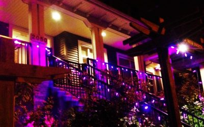 New View Society Lights Up Purple for World Mental Health Day!