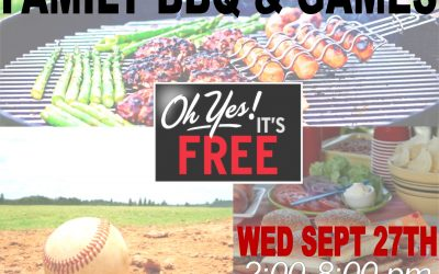 FREE Family BBQ and Games