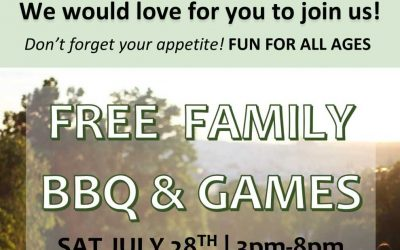 Family BBQ July 28th