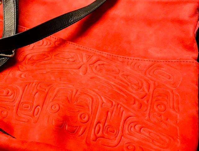 Shoulder bag - First Nations Design. Value: $80.00