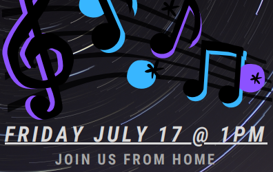 July 17th Coffee House – Virtual Edition