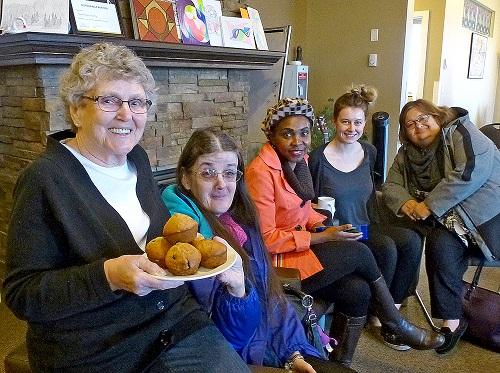 Volunteers- muffin mornings