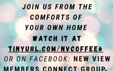 May 29th Coffee House – Virtual Edition