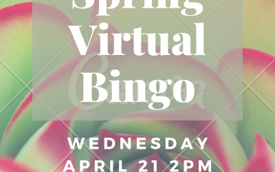 Virtual Spring Bingo