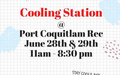 Cooling Station @ PoCo Rec Centre