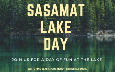 Sasamat Lake Beach Day